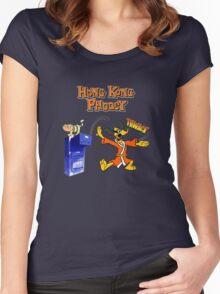 Hong Kong Phooey Women's Fitted Scoop T-Shirt