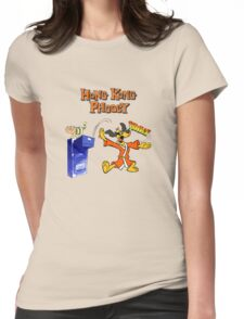 Hong Kong Phooey Womens Fitted T-Shirt