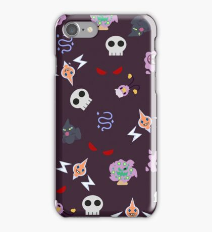Ghost Pokemon iPhone Case/Skin