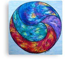 Gazing Ball Canvas Print