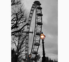 London Eye and street lamps Unisex T-Shirt