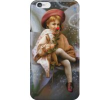 A Girl And A Fairy Of 7 iPhone Case/Skin