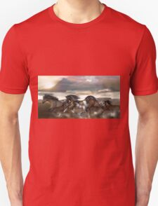 Wild and Free - The Mustangs Unisex T-Shirt
