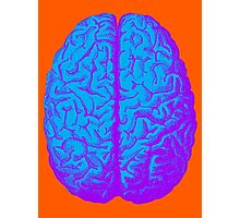 Psychedelic Brain Photographic Print