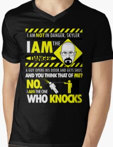 I Am the Danger Mens V-Neck T-Shirt