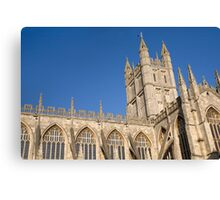 Bath Cathedral Canvas Print