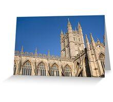 Bath Cathedral Greeting Card