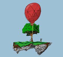 Floating Rock balloon Unisex T-Shirt