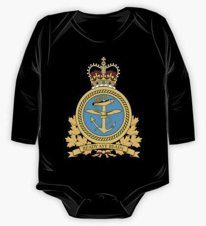 Canadian Forces Maritime Command Emblem One Piece - Long Sleeve