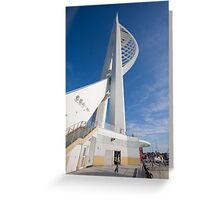 Spinnaker Tower, Portsmouth Greeting Card