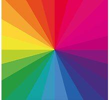 Jamie xx 'In Colour' Pantone Color Spectrum  Photographic Print