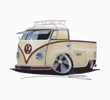 VW Splitty Pick-Up (RB) by Richard Yeomans