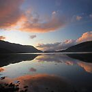 Loch Leven Sunset by beavo