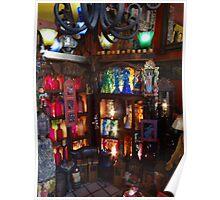 Decorative arts - shopping in Puerto Vallarta  Poster