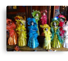 Decorative arts - tropical colours and light Canvas Print