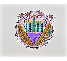 Hanukkah Lights Photographic Print