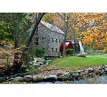 Sudbury Grist Mill Photographic Print