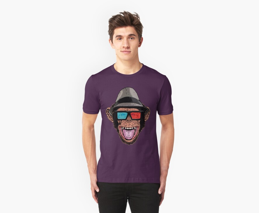 HIPSTER CHIMP - THE CHIMPSTER by GUS3141592