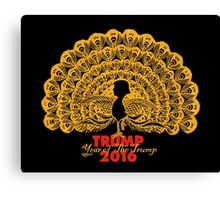 Year of The Trump. Canvas Print