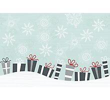 xmas card Photographic Print