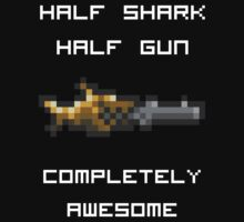 Minishark Terraria (reversed colours) by NiteOwl