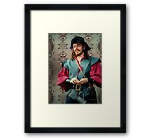 The Thief of Hearts Framed Print