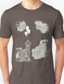 white balloons Unisex T-Shirt