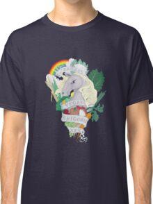 Bad*ss Vegan Unicorn Classic T-Shirt