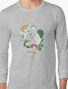 Bad*ss Vegan Unicorn Long Sleeve T-Shirt
