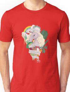 Bad*ss Vegan Unicorn Unisex T-Shirt