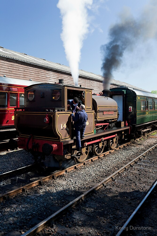 Charwelton at Tenterden Station by Kerry Dunstone