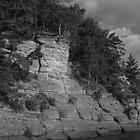 Sandstone Formation in Black and White by Thomas Murphy