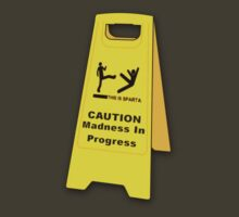 Caution, Madness In Progress by TheStunner