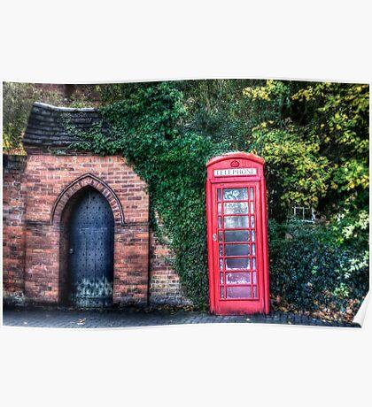 The Great British Telephone Box Poster