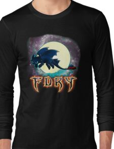 Toothless Dragon Night Fury Long Sleeve T-Shirt