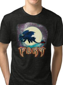 Toothless Dragon Night Fury Tri-blend T-Shirt