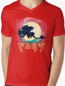Toothless Dragon Night Fury Mens V-Neck T-Shirt