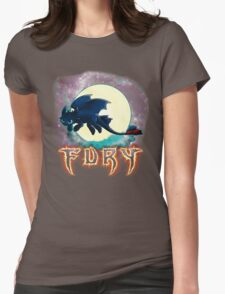 Toothless Dragon Night Fury Womens Fitted T-Shirt