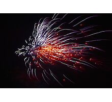 Guy Fawkes fire work Photographic Print
