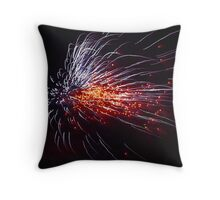Guy Fawkes fire work Throw Pillow