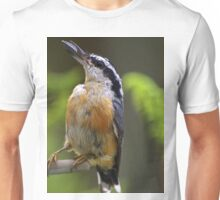 Bird With Sunflower Seed Unisex T-Shirt
