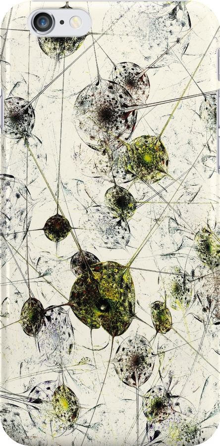 Neural Network iPhone Case by Anastasiya Malakhova