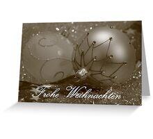 Christmas Card 1 (German) Greeting Card