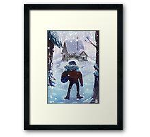 Stan's Arrival Framed Print