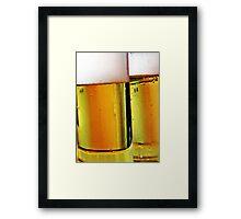 """""""Kölsch"""" - Fine Beer of Cologne Framed Print"""