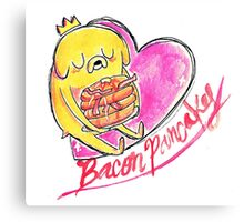 Bacon Pancakes! Canvas Print