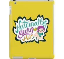 Nocturnally Geeky Me Banner iPad Case/Skin