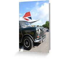 Classic British icons Greeting Card