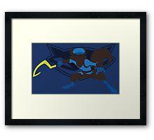 Sly Cooper (Sunset Shores) Framed Print