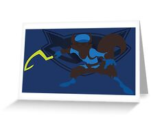Sly Cooper (Sunset Shores) Greeting Card